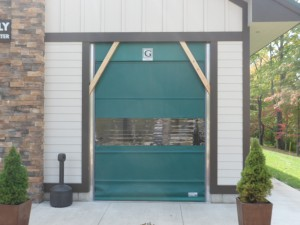 Roll Up Vinyl Dock Door